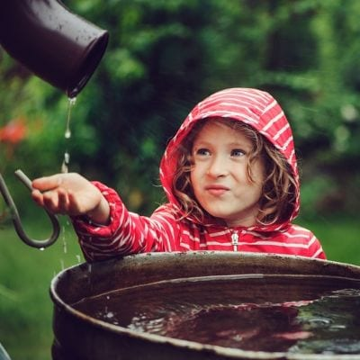 Using a rain barrel or rain catcher is a great DIY Irrigation method if you're looking to conserve water here in Duluth, GA.